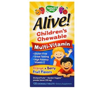 子供用マルチビタミン&ミネラル